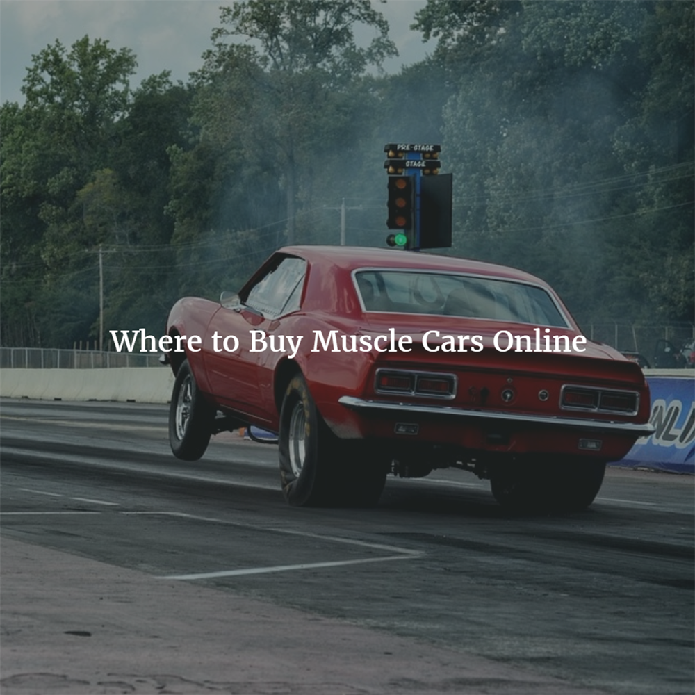 Where to Buy Muscle Cars Online | Original Air Group